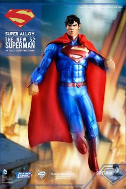 DC Comics Super Alloy Action Figure 1/6 The New 52 Superman Event Exclusive Edition 30 cm