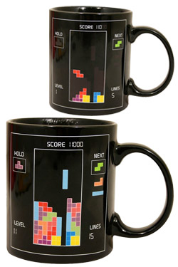 Tetris Color-Changing Mug