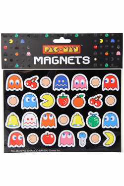 Pac-Man Fridge Magnets