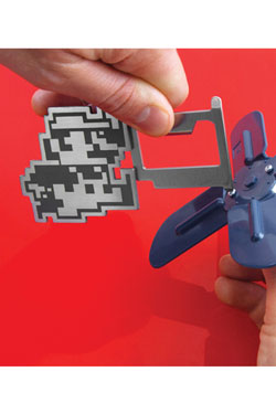 Super Mario Bros. Keychain 3 in 1 Multitool Retro Mario