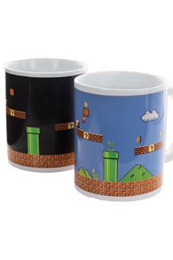 Super Mario Bros. Heat Change Mug Level