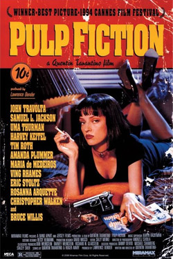 Pulp Fiction Poster Pack Cover 61 x 91 cm (5)