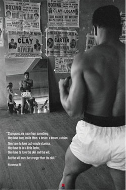 Muhammad Ali Poster Pack Gym 61 x 91 cm (5)