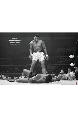 Muhammad Ali Poster Pack Liston Landscape 61 x 91 cm (5)