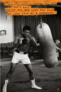 Muhammad Ali Poster Pack Punchbag 61 x 91 cm (5)