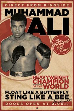 Muhammad Ali Poster Pack Vintage 61 x 91 cm (5)