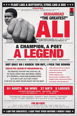 Muhammad Ali Poster Pack Vintage 2 61 x 91 cm (5)