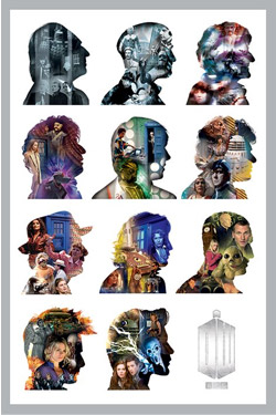 Doctor Who Poster Pack Silhouette 61 x 91 cm (5)