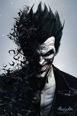 Batman Arkham Origins Poster Pack Joker 61 x 91 cm (5)