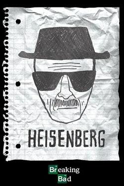 Breaking Bad Poster Pack Heisenberg Wanted 61 x 91 cm (5)