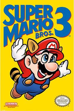 Super Mario Bros. 3 Poster Pack NES Cover 61 x 91 cm (5)