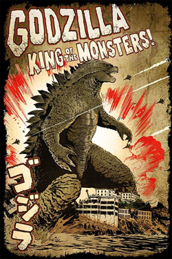 Godzilla Poster Pack King Of The Monsters 61 x 91 cm (5)