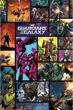Guardians of the Galaxy Poster Pack Comics 61 x 91 cm (5)