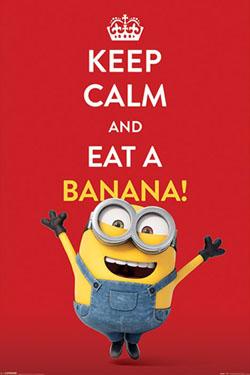 Minions Poster  Keep Calm 61 x 91 cm