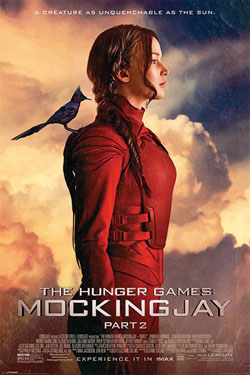 The Hunger Games Mockingjay Part 2 Poster Pack The Mockingjay 61 x 91 cm (5)