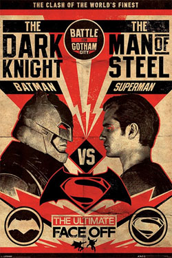 Batman v Superman Poster Pack Fight 61 x 91 cm (5)