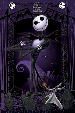 Nightmare Before Christmas Poster Pack It's Jack 61 x 91 cm (5)