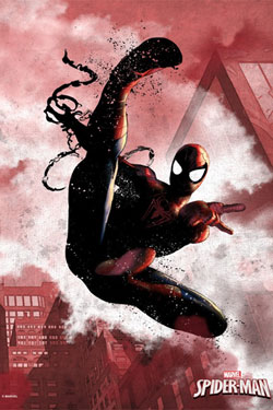 Marvel Comics Metal Poster Spider-Man 32 x 45 cm