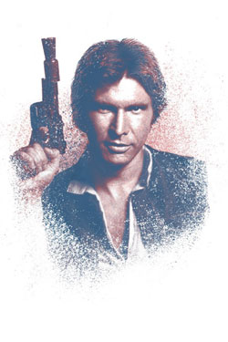 Star Wars Metal Poster Successors Collection Han Solo 32 x 45 cm