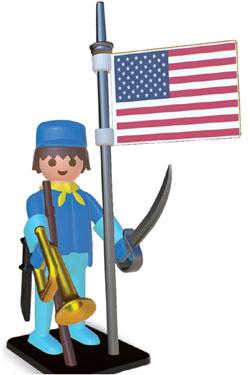 Playmobil Nostalgia Collection Statue American Horseman 25 cm