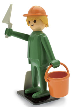 Playmobil Nostalgia Collection Statue Builder 25 cm