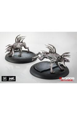 Alien Vs Predator Board Game The Hunt Begins Expansion Pack Predator Hellhounds *English Version*