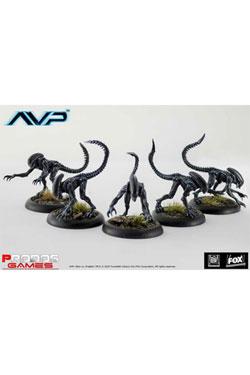 Alien Vs Predator Board Game The Hunt Begins Expansion Pack Alien Stalkers *English Version*