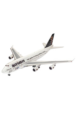 Iron Maiden Model Kit 1/144 Boeing 747-400 Ed Force One Book Of Souls Tour 49 cm