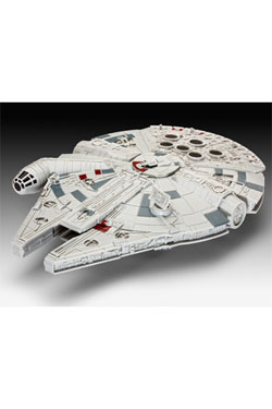 Star Wars Episode VII Build & Play Model Kit with Sound & Light Up Millennium Falcon 20 cm