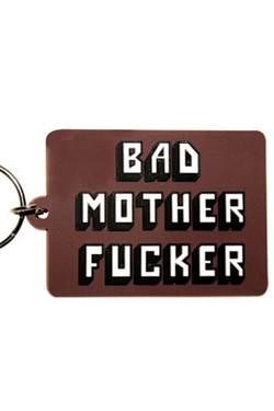 Bad Mother Fucker Rubber Keychain Logo 6 cm