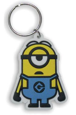 Minions Rubber Keychain Minion Stuart 6 cm