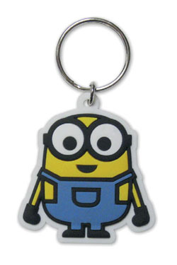 Minions Rubber Keychain Minion Bob 6 cm