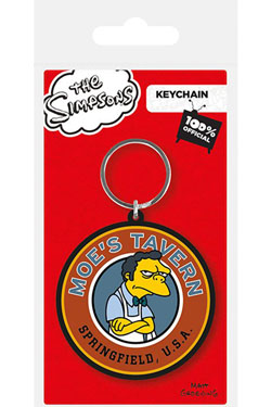Simpsons Rubber Keychain Moe's Tavern 6 cm