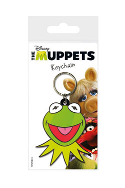 The Muppets Rubber Keychain Kermit 6 cm