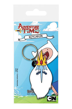 Adventure Time Rubber Keychain Ice King 6 cm