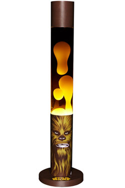 Star Wars Chewbacca Graphic Art Lava Lamp 46 cm - EU Plug