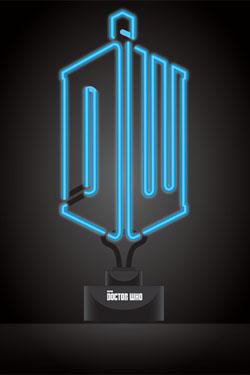 Doctor Who Neon Light Logo 20 x 44 cm