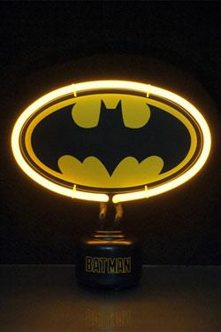 DC Comics Neon Light Batman Crest 23 x 24 cm