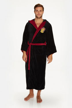 Harry Potter Fleece Bathrobe Gryffindor Wizard
