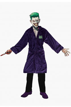 Suicide Squad Fleece Bathrobe Joker