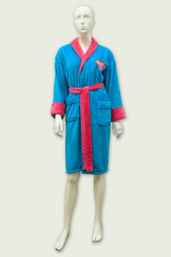 DC Comics Ladies Bathrobe Supergirl