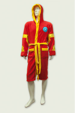 Marvel Comics Fleece Bathrobe Iron Man
