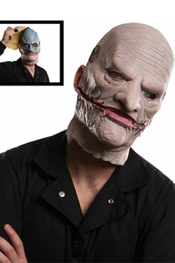 Slipknot Vinyl Corey Mask with Removable Upper Face