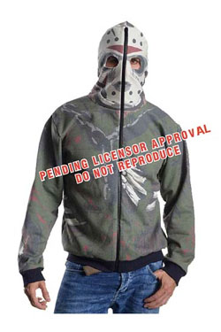 Friday the 13th Hooded Sweater Jason Voorhees Size XS