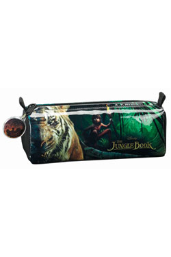 The Jungle Book 2016 Pencil Case Mowgli & Shere Kahn 21 cm