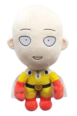 One-Punch Man Plush Figure Saitama Happy Version 28 cm
