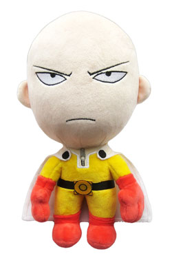 One-Punch Man Plush Figure Saitama Angry Version 28 cm