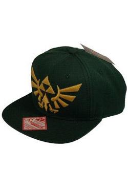 The Legend of Zelda Snap Back Baseball Cap Embroided Gold Logo