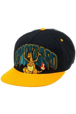 Pokemon Snap Back Baseball Cap Charizard