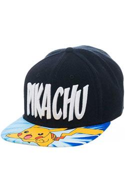 Pokemon Snap Back Baseball Cap Lightning Pikachu